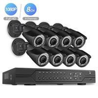 sistema de cámara de vigilancia para el hogar de 8 canales. al por mayor-BESDER POE 8CH NVR 1080P HDMI CCTV Sistema Grabador de video 8PCS Seguridad para el hogar Cámara de visión nocturna a prueba de agua Kits de vigilancia
