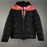 moda ceket kanatları toptan satış-Marcelo Burlon Ceket Erkekler WomenHigh Kalite İtalya Milan County Moda MB Ceket Hip Hop Kanat Marcelo Burlon Ceket