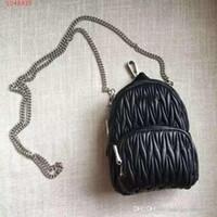name brand backpack großhandel-Stile Handtasche Berühmte Designer Markenname Mode Kette Rucksack Stil Leder Frauen Tote Umhängetaschen Lady Leder Handtaschen Taschen