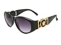 için menteşeler toptan satış-Marka Tasarımcısı Güneş Yüksek Kalite Metal Menteşe Güneş Gözlüğü Erkek Gözlük Kadın Güneş gözlükleri UV400 lens Unisex 2368