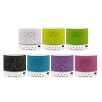 caja de tarjeta flash usb al por mayor-Bluetooth altavoz Crackle bluetooth regalo TF tarjeta USB teléfono celular altavoz inalámbrico flash mini caja de altavoz
