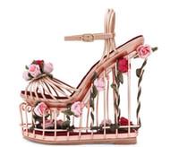 Sandales 2019 En Fleurs Femme Plateforme Chaussures Vente Gros CxoedB