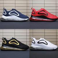 için takım ayakkabıları toptan satış-Nike Air Max 720 Men shoes Team Crimson Kuzey Işıkları Toplam Eclipse Deniz Ormanı erkekler eğitmenler TPU Spor sneakers Eur 40-45