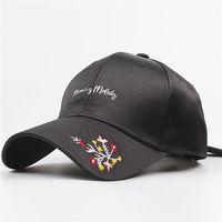 arcos de la juventud al por mayor-Versión coreana de la curva de proa a lo largo de la gorra raso protector solar verano viajes de compras salvaje juventud marea sombrero