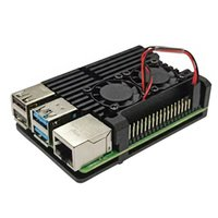 stab trocknen großhandel-Box Easy Install-Tool Durable Gehäuse Shell Cover Kühlaluminiumlegierung Zubehör Schutzhülle für Raspberry Pi 4B