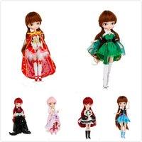 muñecas tang al por mayor-Ropa de niña BB blyth ropa de muñeca adecuada para 1/6 muñeca Tang kou muñeca