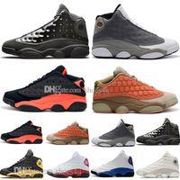 kıyafet modacı tasarımcıları toptan satış-Moda 13 13 s Kap Ve Kıyafeti Terracotta Allık Erkek Basketbol Ayakkabıları Chicago Kaptan Amerika Flints Bred Erkekler Spor Sneakers Tasarımcı eğitmenler