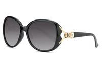 lunettes de soleil de marque renard achat en gros de-Nouvelle Arrivée Marque Designer lunettes de soleil surdimensionné Femmes Polarisée Perle lunettes de soleil de haute qualité Femme Fox Legs Lunettes 5 couleurs 10 PCS
