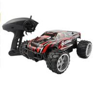 rc großes spielzeug großhandel-RC Auto Monster Truck Big-Foot Truck Geschwindigkeit Racing Fernbedienung SUV Buggy Geländewagen Elektronische Hobby Spielzeug Für Kinder
