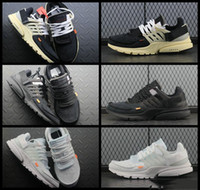 26105ef96ba Wholesale air presto off white for sale - 2018 New Fashion Presto Running  Shoes For Men