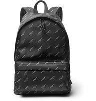 erkek naylon çanta toptan satış-2019 marka kadınlar Paris Explorer Baskılı Naylon Sırt Çantası erkekler çanta Ünlü sırt çantası tasarımcıları erkek sırt paketi kadın seyahat çantası sırt çantaları