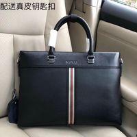 Wholesale luxury briefcases resale online - New fashion luxury designer bag leather making designer briefcase super large capacity fashion printing luxury Handbag model