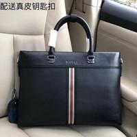 yeni deri evrak çantası toptan satış-Yeni moda lüks tasarımcı çanta, deri yapımı tasarımcı evrak çantası, süper büyük kapasiteli moda baskı lüks Çanta modeli 7060-1
