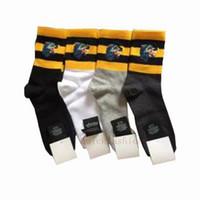 yılbaşı uzun çorapları toptan satış-Lüks Hayvan Tasarımcısı Adam Çorap Bağbozumu Kadın Kış Seksi Uzun Çorap Sokak Stili Şerit Erkekler Kısa Çorap Noel Hediyesi