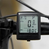 sangles thoraciques de fréquence cardiaque achat en gros de-LCD Vélo Vélo Ordinateur Compteur De Vélo Vélo Compteur Avec Sans Fil Moniteur De Fréquence Cardiaque Testeur Poitrine Sangle Vélo Accessoires # 78769