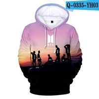Wholesale boy for men hoodies resale online - Boy hoodie for bigHit Entertainment Singer Star Sweatshirt Tee Top Famous Singer Hoodies retail