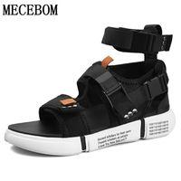 sandales de gladiateur masculin achat en gros de-Été Hommes Gladiator Sandales Boucle Conception Slip-on Sandales Décontractées Pour La Mode Masculine Hommes Plage Zapatillas 899 M