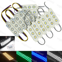 LED Modules SMD 5050 Store Front Window Light Sign Lamp Injection 3500K 6500K Multicolor IP65 Waterproof Strip Backlight Holiday Lighting DHL