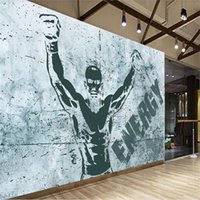 Wholesale nostalgic wallpaper for sale - Group buy custom size d photo wallpaper livingroom bed room nostalgic classical taekwondo gym martial picture sofa TV backdrop wallpaper wall sticker