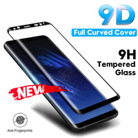 Wholesale tempered glass samsung galaxy a8 online – Tempered Glass Film For Samsung Galaxy Note S9 S8 Plus S7 Edge D Full Curved Screen Protector For Samsung A6 A8