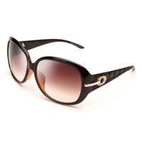 gafas de sol de protección uv venta al por mayor-Venta caliente gafas de sol de diseñador para las mujeres de lujo protección UV gafas de sol lentes de resina marco completo UV400 gafas venta caliente