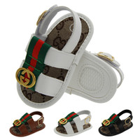 12 18 monate großhandel-2019 NEUE Babyschuhe Für Sommer Neugeborenen Kleinkind Jungen Schuhe Erste Wanderer Baby Rutschfeste Schuhe 0 ---- 18 Monate