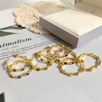 ingrosso anello burlone-donne designer di gioielli di lusso orecchini d'acciaio di titanio nuova forma a nido d'ape di petrolio grandi orecchini orecchini orecchini ad anello Amore jolly goccia
