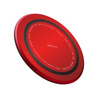 Wholesale new arrivals cellphones resale online - New Arrival Portable Round Multiple Safety Protection QI Stardard W Wireless Mobile Phone Charger For Smart Cellphones