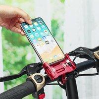 держатели для мобильных телефонов для велосипедов оптовых-Универсальный Велосипед Мотоцикл Велосипед Держатель Телефона Руль Кронштейн для Сотового Телефона GPS