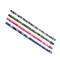 Wholesale types hoses for sale - Camouflage Aluminum Alloy Hookah Handle Set Suit Most Shisha Chicha Nargile Silicone Hose Tube Hookah Pipes Accessories