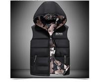 açık havada yelek toptan satış-2018 erkek Packable kuzey Aşağı yelek açık Hafif Ceketler erkek Su Kovucu Puffer yüz yelek m-xxl 03