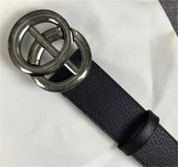 0ac04cfdff6 Wholesale double g belt for sale - now Designer High quality cowskin G belt  double buckle