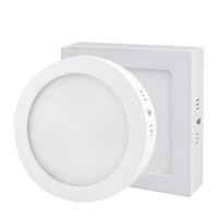 Wholesale round spotlights for sale - Group buy Dimmable W W W Round Square Led Panel Light Surface Mounted Led Downlight lighting Led ceiling down spotlight