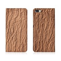Wholesale asus phone holder for sale – best Bark Pattern Genuine Leather Flip Case For Asus ZenFone Max ZC554KL Phone Case With Card Holder For ZenFone Max ZC554KL Phone Bag