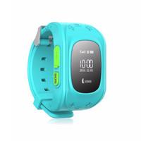 cerca de gps venda por atacado-Rastreador GPS crianças assista SOS Kid Cerca Eletrônica Em Dois Sentidos de Comunicação Celular App Aparelhos Wearable