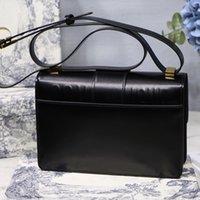 moda çanta toptan satış-Çanta tasarımcısı moda retro deri tek omuz çevirme toka toka çanta kutusu ile çapraz paket tasarımcı çanta