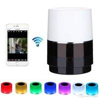 wifi objektiv großhandel-Bunte Nachtsicht-Mikrokamera-Objektivrotation WiFi 1080P HD drahtlose Mini-Nachtsichtkamera, die Fern-Echtzeit-Erkennung fährt