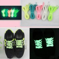 Wholesale light shoes for children resale online - Glow In The Dark Light Kids Luminous Shoelace Stickers Canvas Sport Shoe laces for Women Men Running Fluorescent Gift Toys For Children