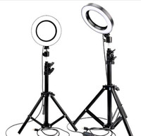 Wholesale makeup phone holder online – custom live photo LED Ring Light Photo Studio Camera Light Photography Dimmable Video light for Youtube Makeup Selfie with Tripod Phone Holder