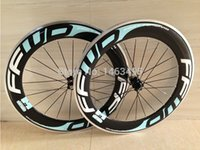 Wholesale 88mm clincher wheel set for sale - FFWD f6R F9R bicycle carbon wheelset bike wheels front mm rear mm clincher wheels mm alloy surface bicycle wheels