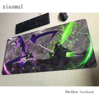 Wholesale cool mouse pads resale online - black clover mouse pad gamer HD pattern x40cm notbook mouse mat gaming mousepad large cool new pad PC desk padmouse mats