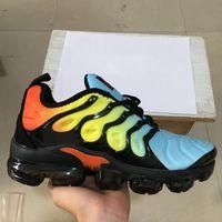 sapatos de borboleta homens venda por atacado-TN PLUS Homens Mulheres Sapatos de Grife De Velocidade Da Borboleta Vermelho Branco Jogo Real Antracite Ultra Branco Preto Sapatos de Corrida Whoesale 2019 Calçados Esportivos