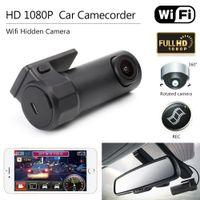 Wholesale wireless hiding camera for sale - Group buy Car DVR Camera HD P Mini Wifi Video Recorder Camcorder Camera Night Vision Wireless Mini Hidden Dash Cam APP Manipulation DV