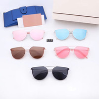 Wholesale sunglasses paragraph resale online - Korean version of the retro fashion polarized color film sunglasses men and women couple GM with the same paragraph sunglasses driving drivi