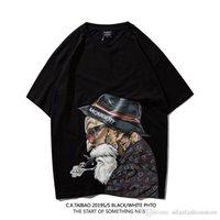 maestro genial al por mayor-Verano de los hombres T Shirts bola de dragón Maestro Roshi Diseño camiseta es divertido manga corta tops frescos Camiseta masculina