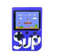 2g мобильные телефоны оптовых-Mew SUP мини портативная игровая консоль Sup Plus портативный ностальгический игровой плеер 8 бит 129 168 300 400 в 1 FC играх цветной ЖК-дисплей игровой плеер