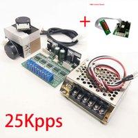 sistema de escáner láser al por mayor-Escáner galvo de alta velocidad de 25 Kpps con tablero de control DMX para láser Show Lighting RGB Laser System Galvanometer