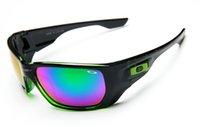 fashion sunglass toptan satış-10 ADET Marka Güneş Erkek Yeni Moda Spor Güneş gözlükleri Bisiklet Etrafında Sarın Sunglass Occhiali da sole 009106