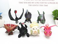Wholesale one piece products resale online - Dragon Master Doll Collection products Plastic cement creative Popular Manual model Party Favor seven piece one set cy E1