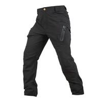 pantalones de trekking tácticos al por mayor-Pantalones de senderismo tácticos al aire libre para hombres de la historia de Shanghai Pantalones de secado rápido para estiramiento